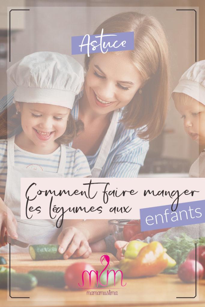 6 astuces pour faire manger les légumes aux enfants