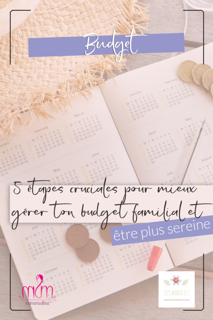 5 étapes cruciales pour mieux gérer ton budget familial et être plus sereine