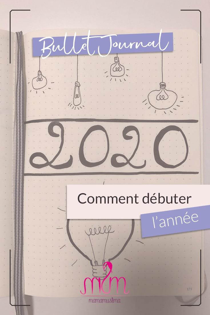 Bullet Journal : idées de mise en page pour commencer l'année