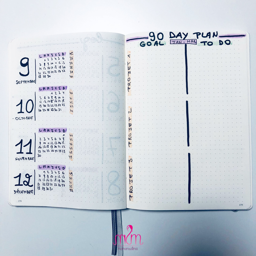bullet-journal-90-day-plan