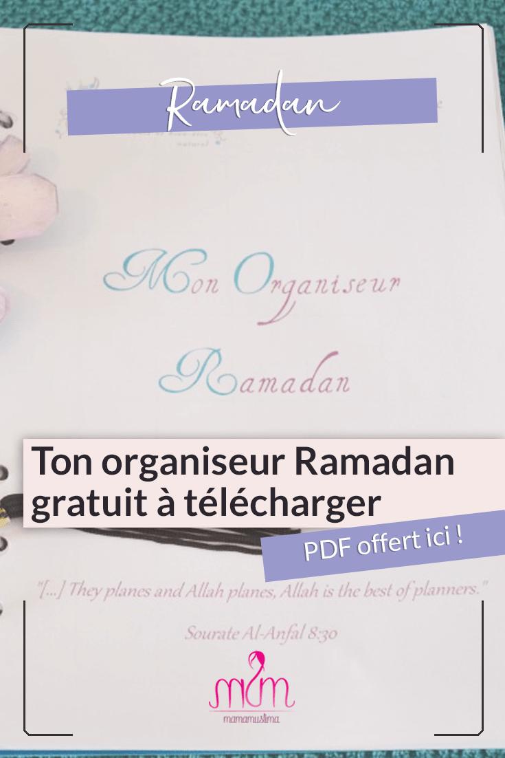 Ton organiseur Ramadan perso en PDF à télécharger gratuitement